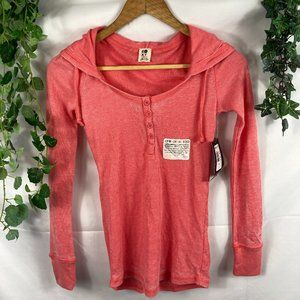 NWT Roxy thermal henley